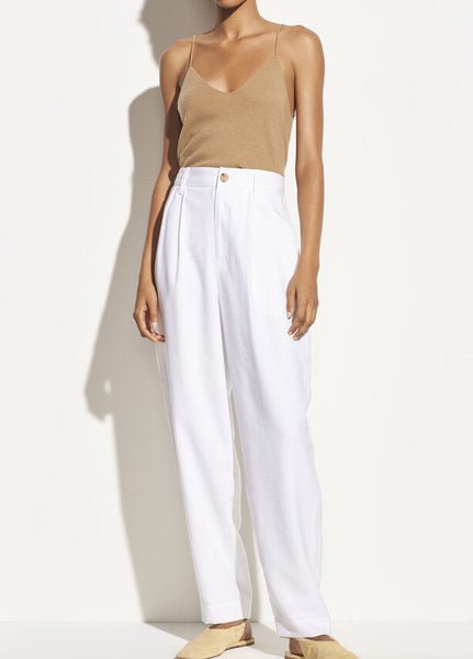 Tapered Pleat Front broek V654621849
