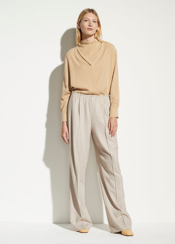 Wool Flannel trousers V690521706