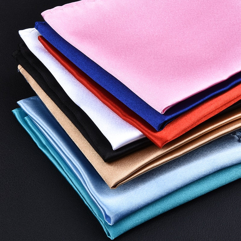 Men's Solid Color Handkerchief