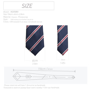 England Striped Tie