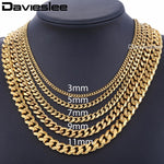 Men & Women Gold Chain