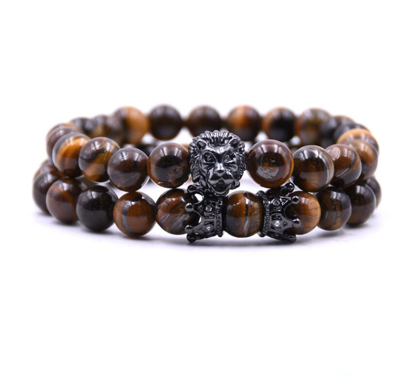 Wooded Lion Bracelet