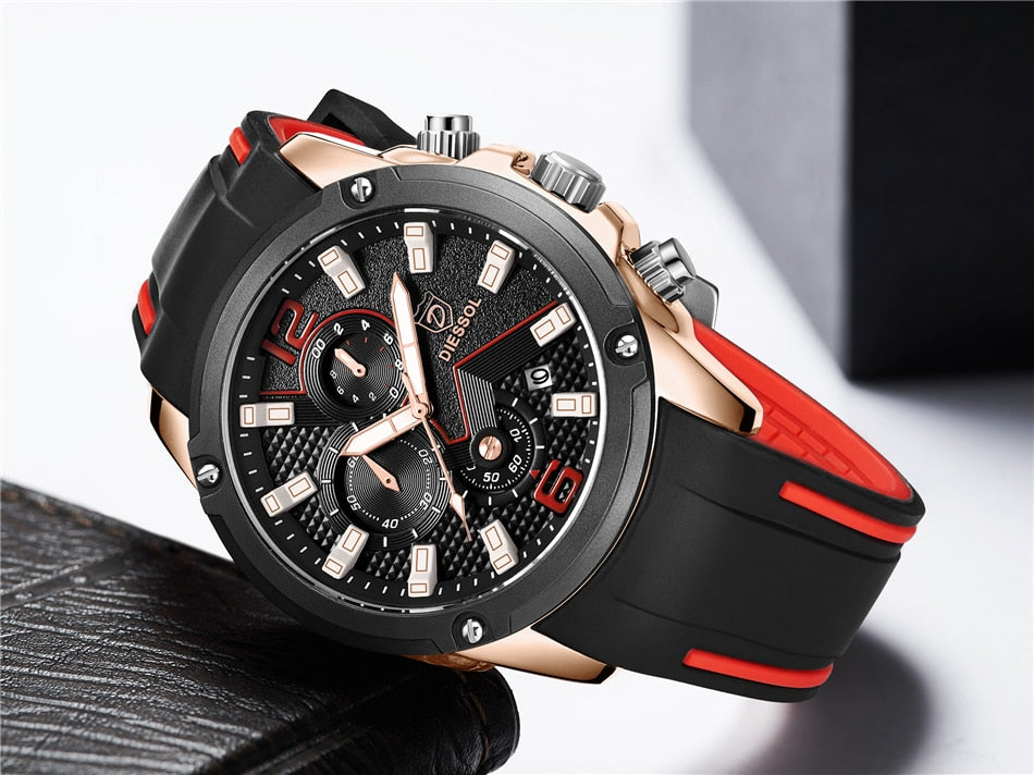 Waterproof Mens Sports Watch