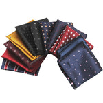 15 Patterns Men's Silk Handkerchief