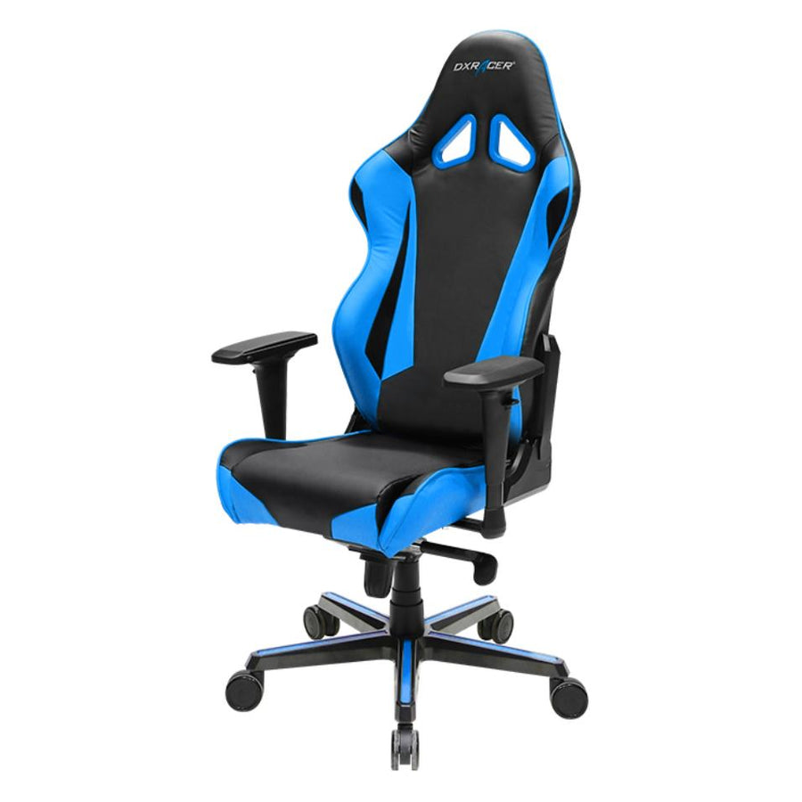 DXRacer OH/RV001/NB Black/Blue Racing Series Gaming Chair