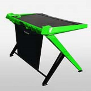 DXRacer GD/1000/NE Black/Green Gaming Desk