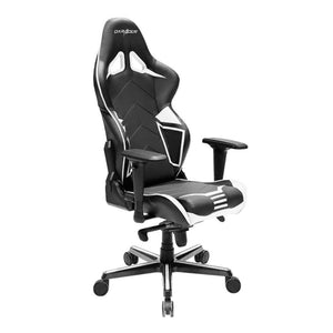 DXRacer OH/RV131/NW Black/White Racing Series Gaming Chair