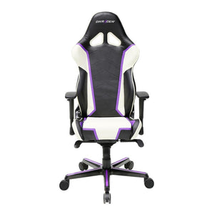 DXRacer OH/RH110/NWV Black/Blue/Violet Racing Series Gaming Chair