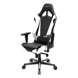 DXRacer OH/RV001/NW Black/White Racing Series Gaming Chair