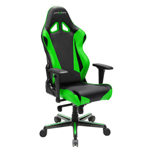 DXRacer OH/RV001/NE Black/Green Racing Series Gaming Chair