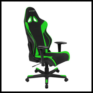 DXRacer OH/RW106/NE Black/Green Racing Series Gaming Chair