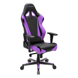 DXRacer OH/RV001/NV Black/Violet Racing Series Gaming Chair