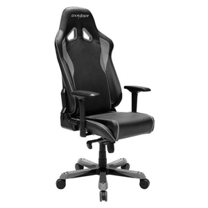 DXRacer OH/SJ08/NG Black/Gray Sentinel Series Gaming Chair