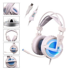 USB 7.1 USB Stereo Gaming Headphones - Racer Gaming Chairs