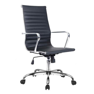 Eames Style Executive Leather High Back Gaming / Office Chair United States Hw51438Bk Chairs Racer