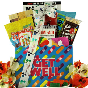 Humor and Tunes: Teen Get Well Gift Basket - Ages 13 & Up