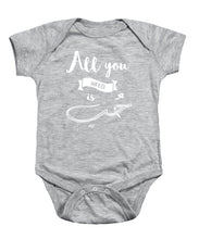 All You Need Is Love- English And Arabic Typography - Baby Onesie