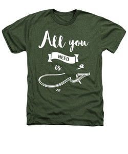 All You Need Is Love- English And Arabic Typography - Heathers T-Shirt