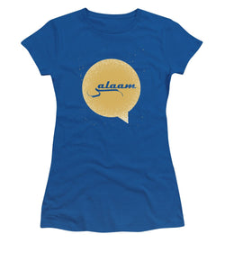 Salaam Typography In Arabic And English  - Women's T-Shirt