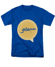Salaam Typography In Arabic And English  - Men's T-Shirt  (Regular Fit)