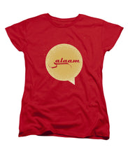 Salaam Typography In Arabic And English  - Women's T-Shirt (Standard Fit)