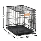 Tiny Dog Folding Pet Crate