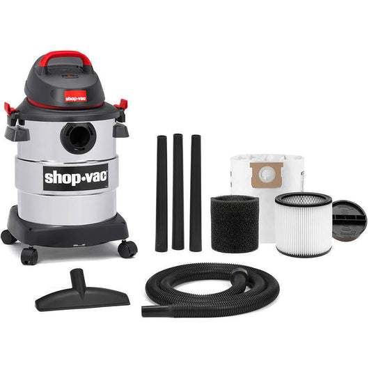 6 Gallon Stainless Steel Shop-Vac