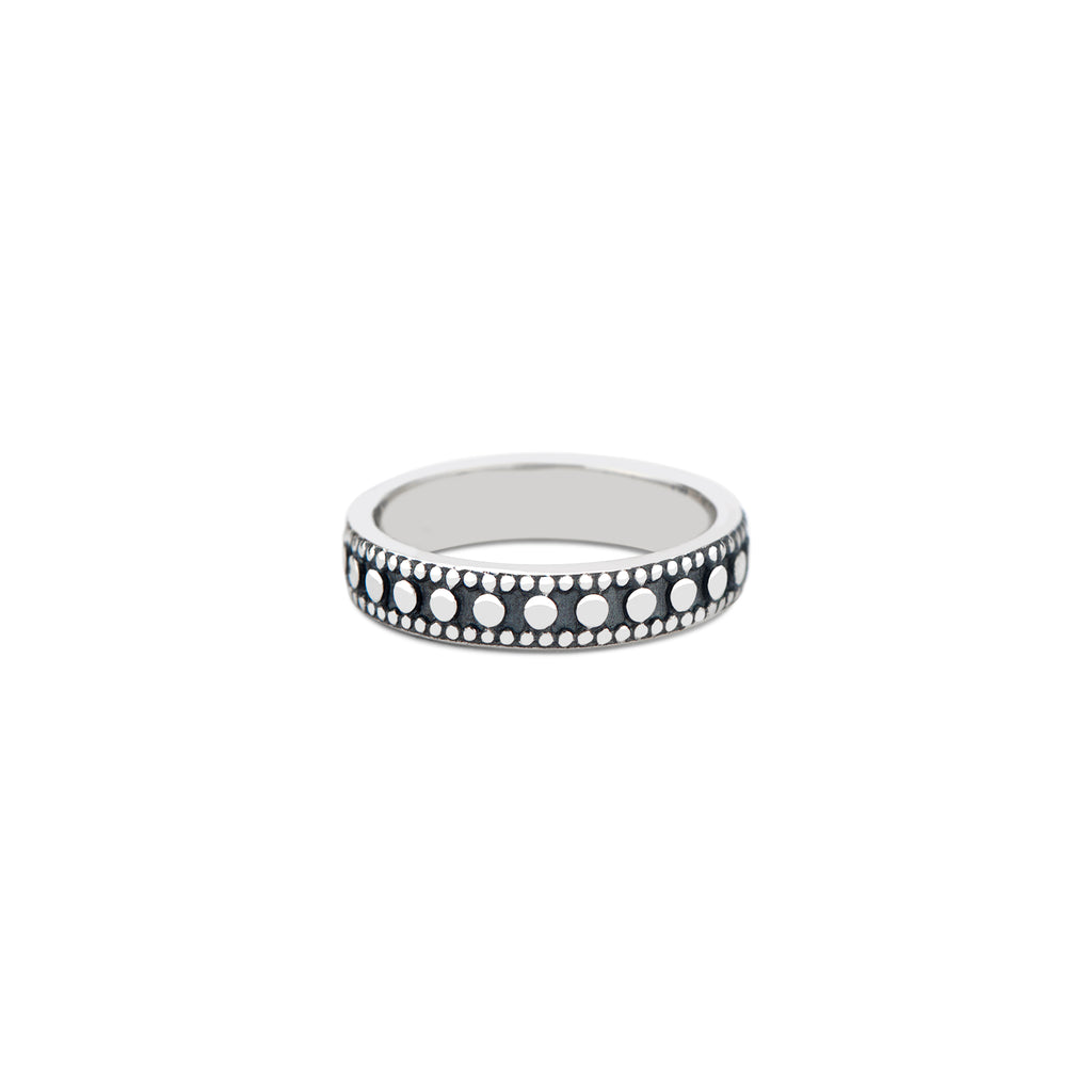 Studded Stacking Ring