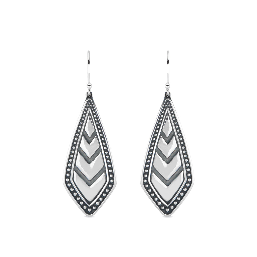 Chevron Statement Earrings