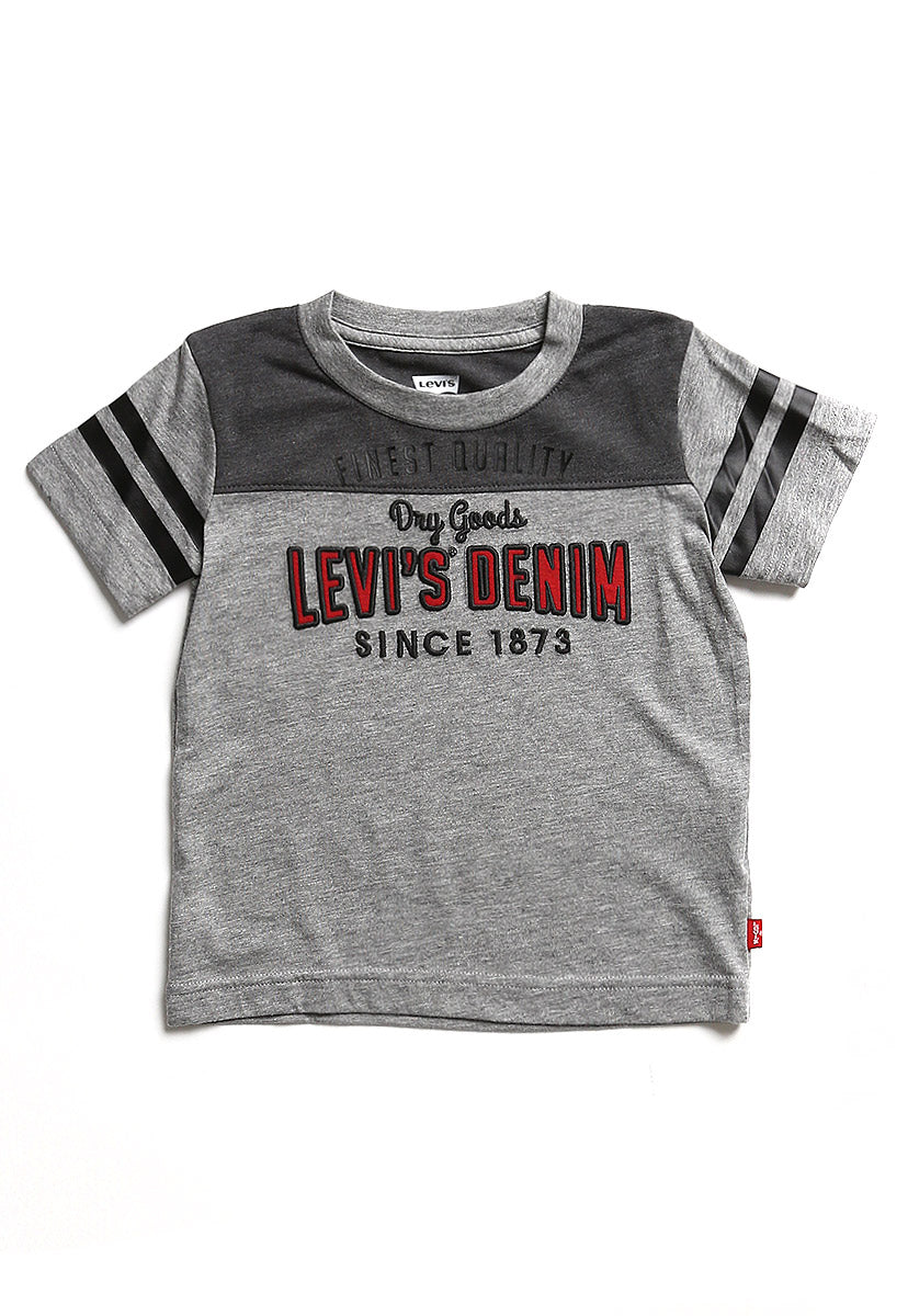 Toddler (2-3XA) Playera Lawson Grey Heather
