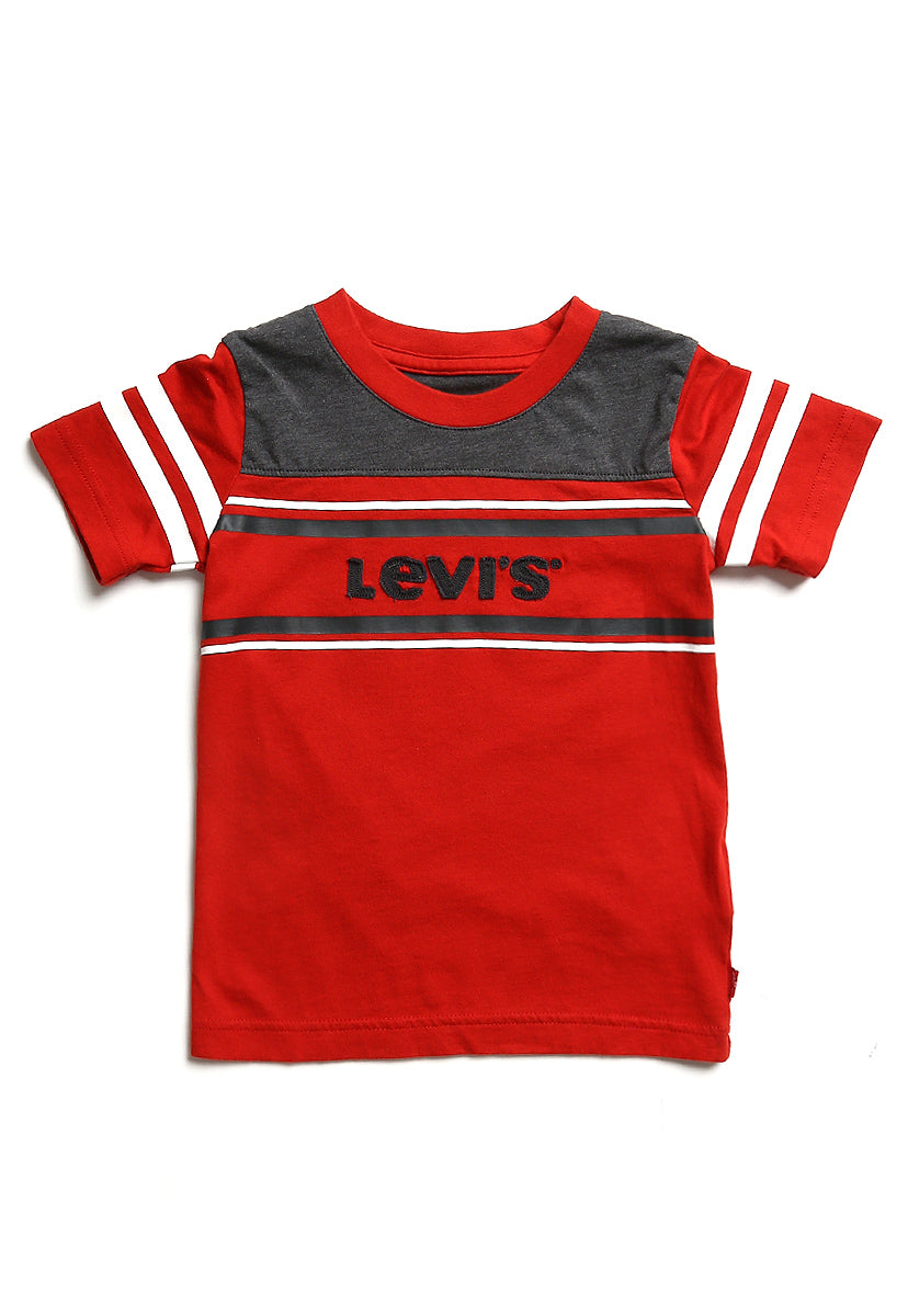 Toddler (2-3XA) Playera Lawson Pompeian Red