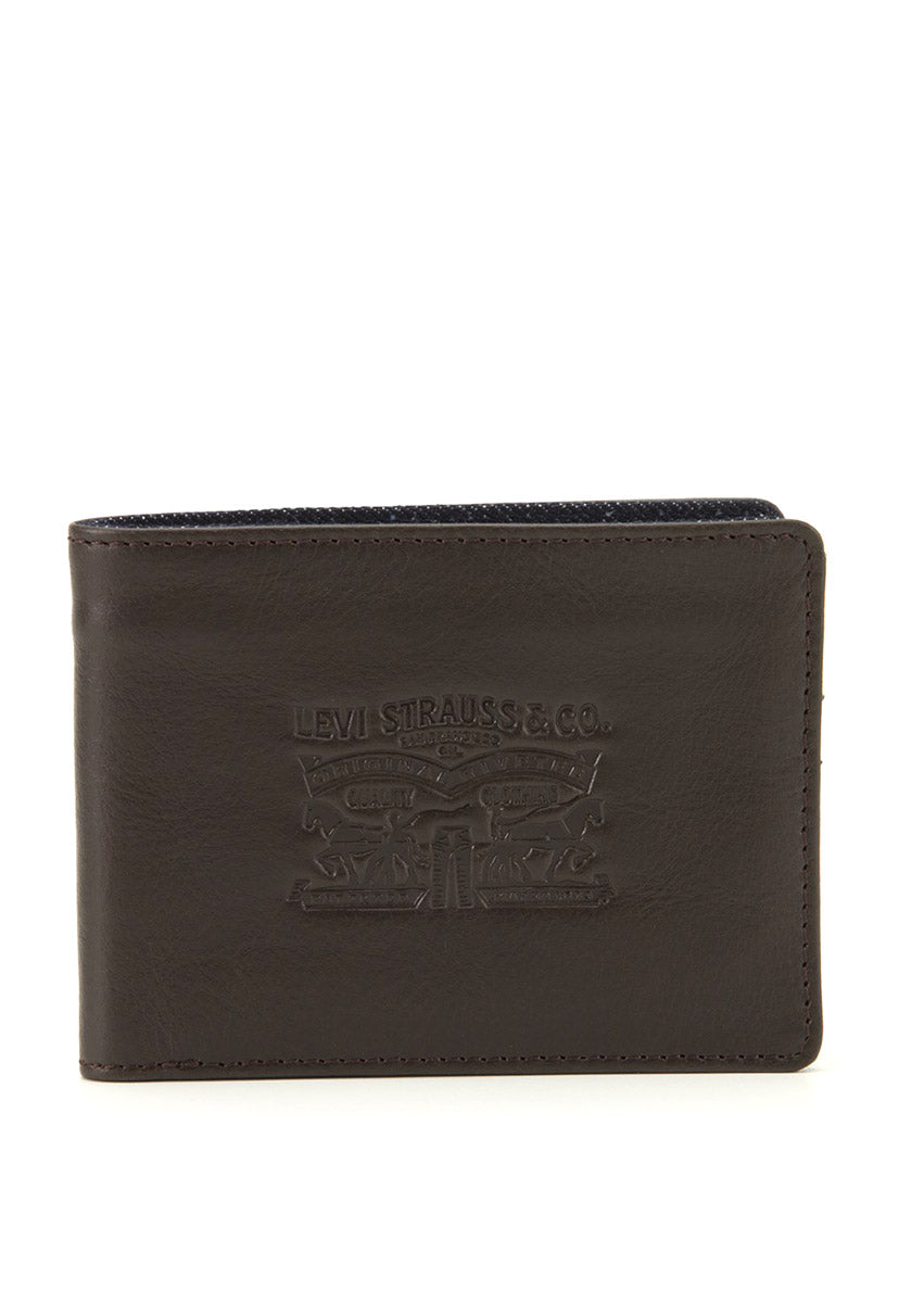 Leather Bifold With Coin
