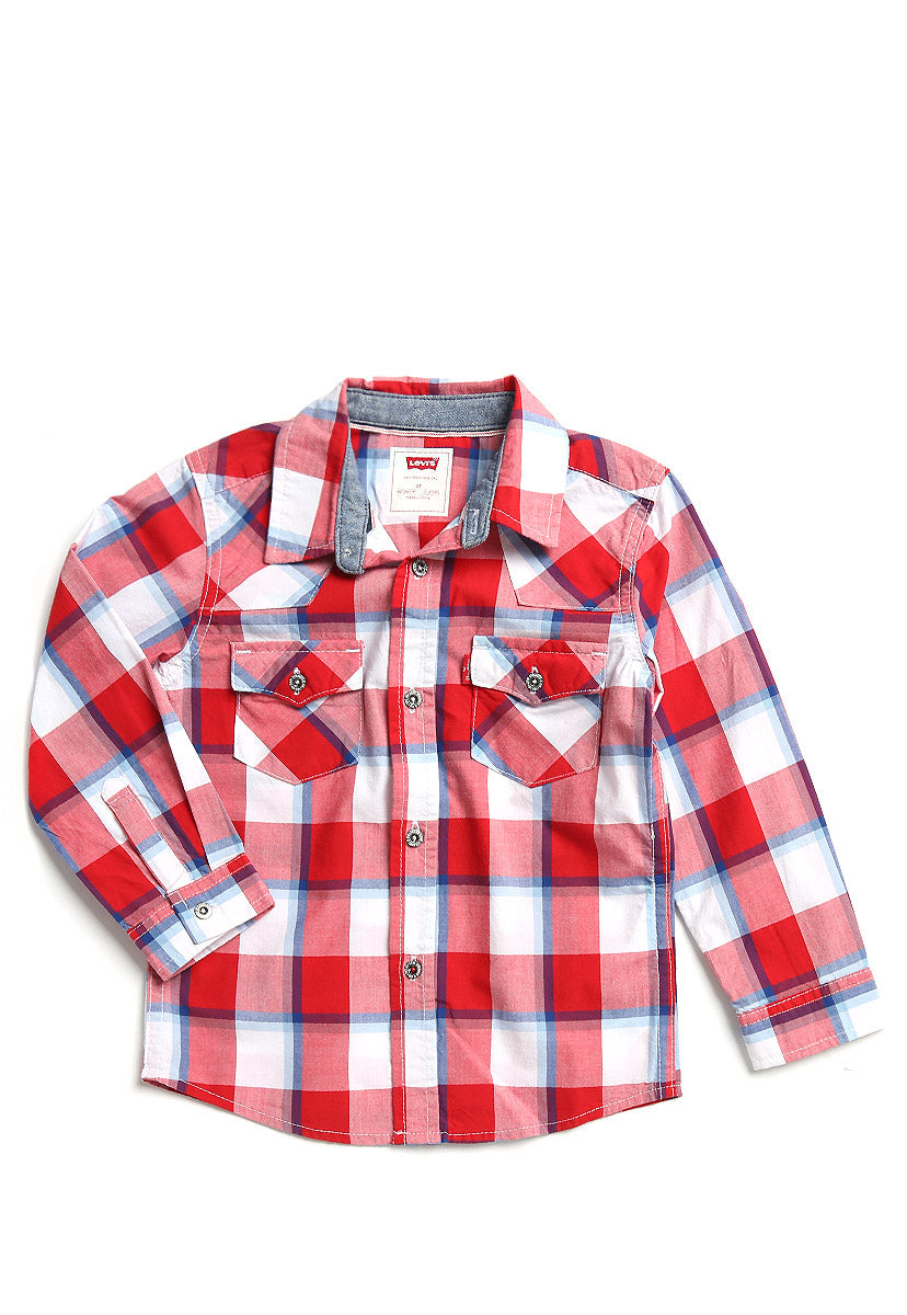 Barstow Western Plaid Shirt