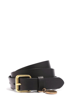 Fashion Charm Belt Regular Black