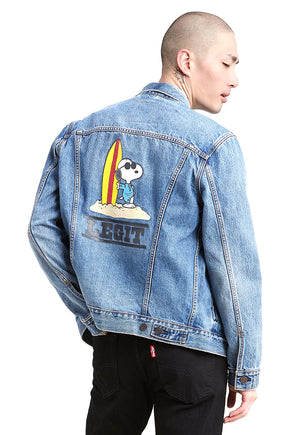 The Trucker Jacket X Peanuts