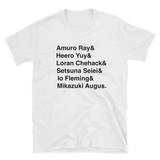 Popular Gundam Pilots T-Shirt