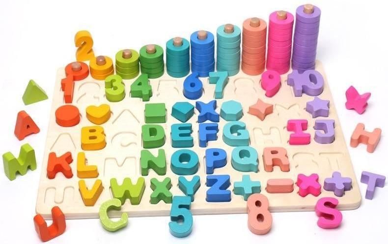 Make Learning Fun With This Wooden Toy Noahcara