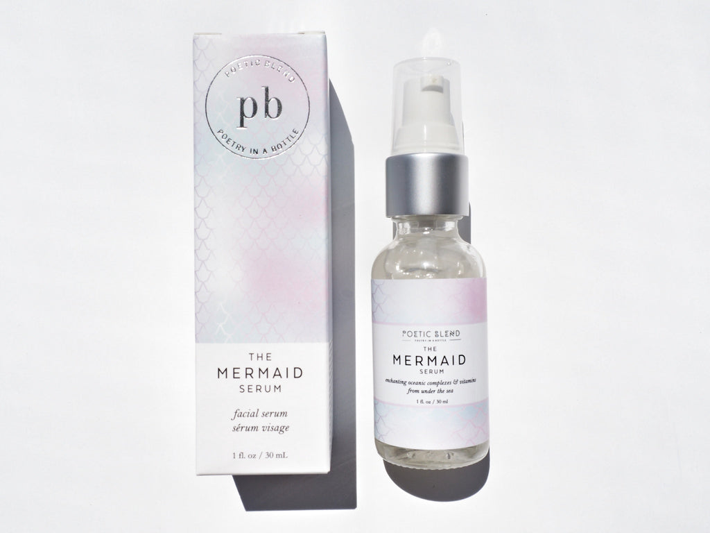 The Mermaid face serum | natural pure plant based ingredients | cruelty free