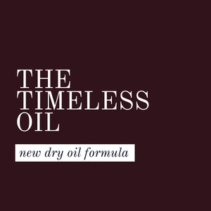 The Timeless oil