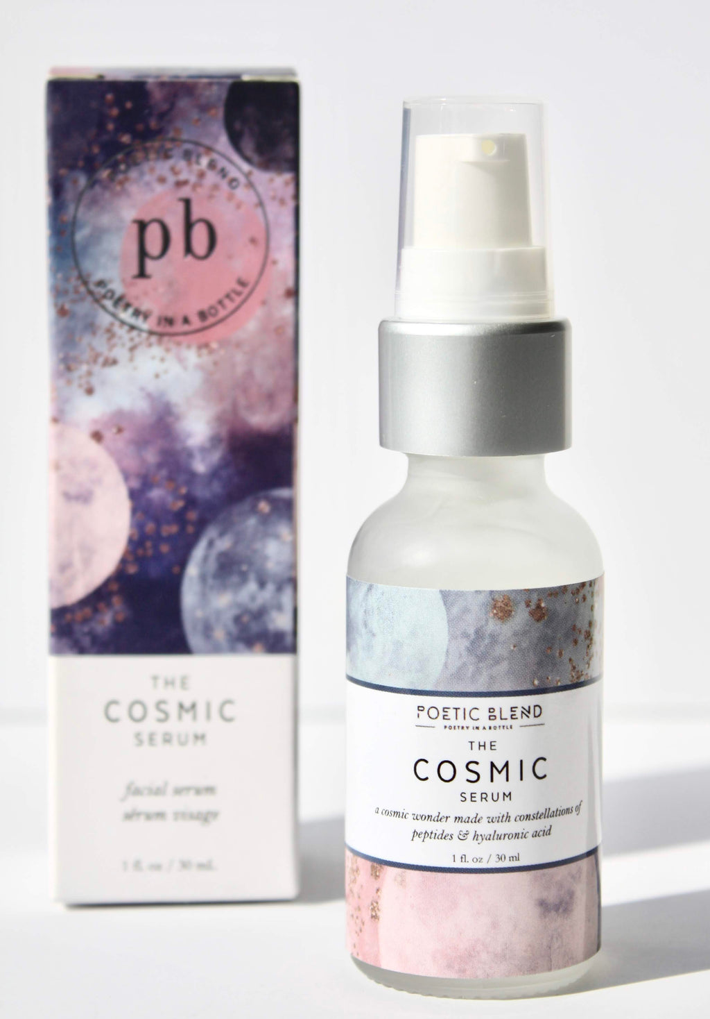 Poetic Blend Hyaluronic peptide plant based serums