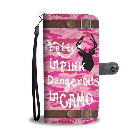 Awesome Pink Camo Wallet Case