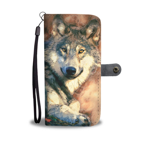 Wolf Snug Wallet Case