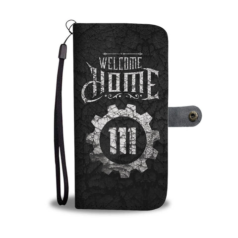 Welcome Home Wallet Case