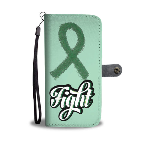 Fight Liver Cancer Wallet Case