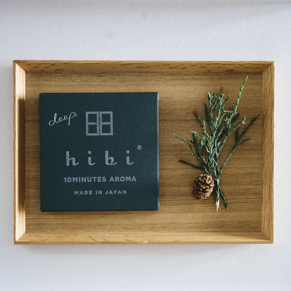 hibi 10 minute incense : hibi deep gift box