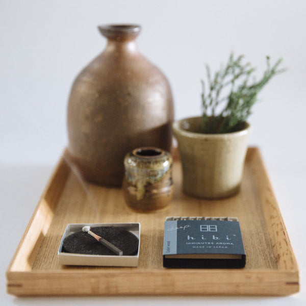 hibi 10 minute incense : hibi deep scent small box
