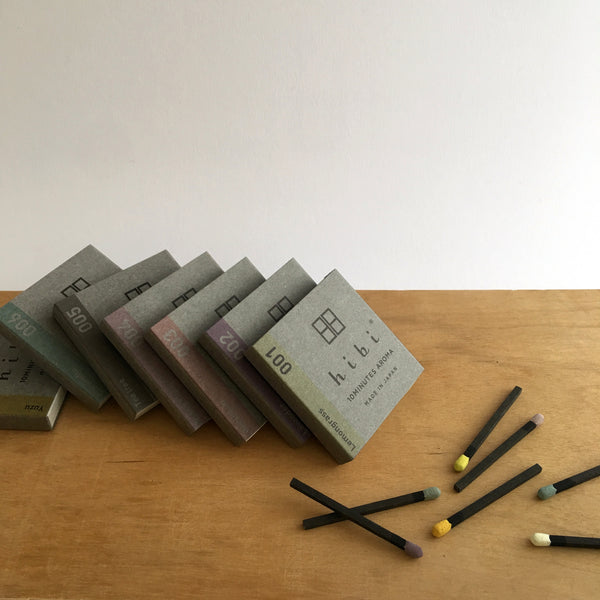 Japanese incense, Awaji incense, Hibi, 10 minute incense, Kobe match, Hibi Australia, Hibi Melbourne, Japanese designer homewares, uki hibi, 10 minute aroma, ukiverse, self lighting incense, match stick incense, Japan to Australia by uki