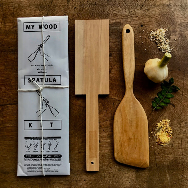 my wood spatula kit
