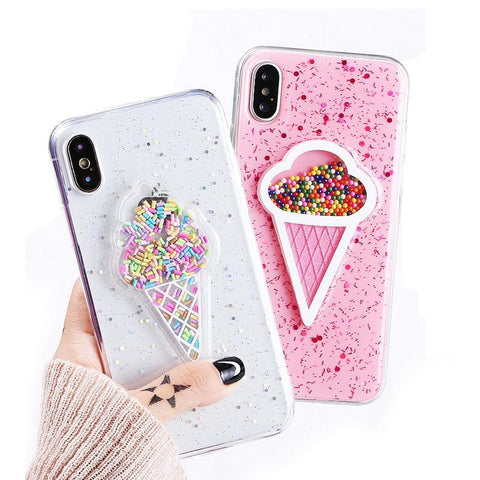 Ice Cream Lover - iPhone X Case