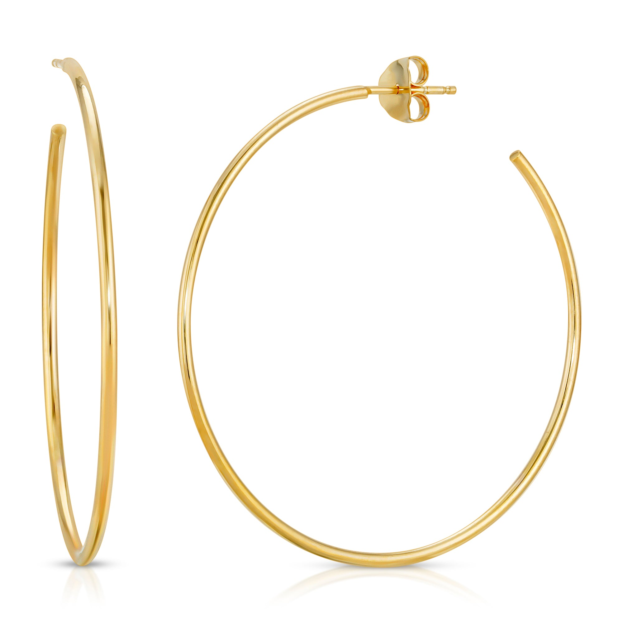 ULTRA THIN LARGE HOOPS